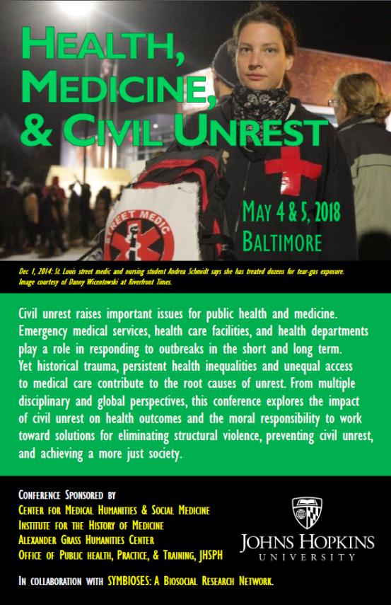 civil unrest poster